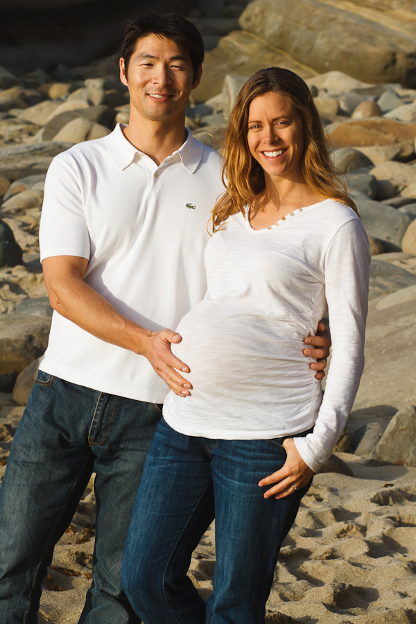 allisonstevepreggo132 8bb0 Allison & Steve   Maternity at La Jolla Cove