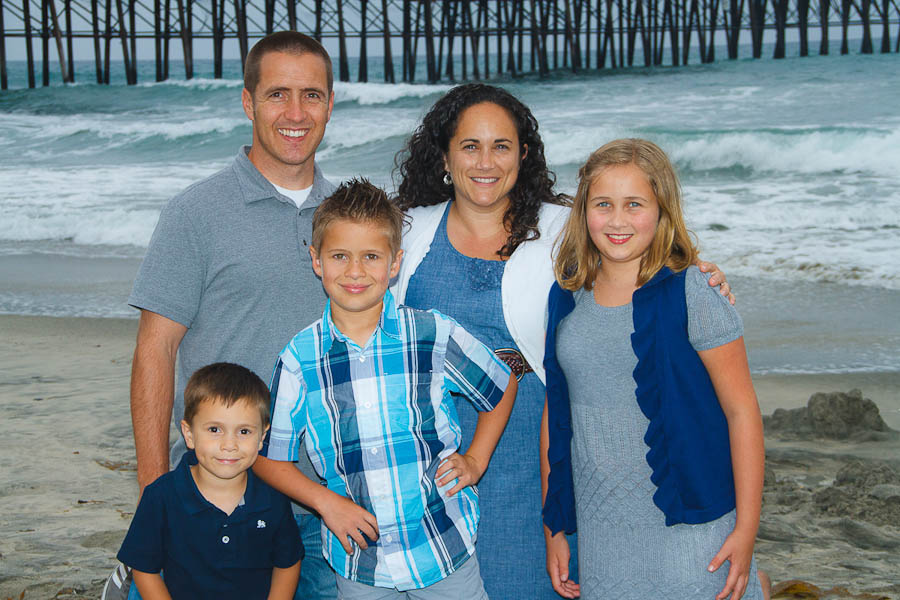 oceanside family photo 10 8efe Snyder Family   Oceanside Pier